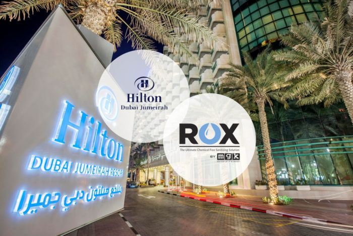 Hilton Dubai Jumeirah Resort Rox Mgk Press Releases